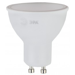 ECO LED MR16-5W-827-GU10 ЭРА (диод, софит, 5Вт, тепл, GU10) (10/100/4000)